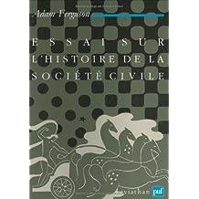 Essai sur l'histoire de la société civile