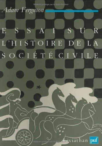 Essai sur l'histoire de la société...