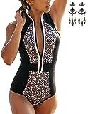 Modetrend 2017 Femmes Bikini De Maillot de Bain Sexy Push Up Plage Été Triangle Monokini Brésilien Swimwear Fermeture éclair