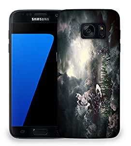 Snoogg Nature View Animated Designer Protective Phone Back Case Cover For Samsung Galaxy S7