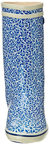 Aigle Malouine Print, Damen Stiefel Mehrfarbig (blueberry 0)