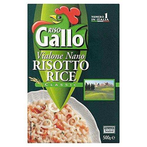 Riso Gallo Risotto De Riz 500G Vialone - Paquet de 6