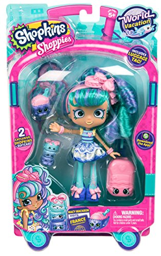 Shopkins Poupée Europe-Macaron France, HPP102, Multicolore