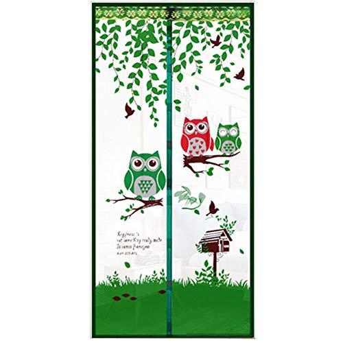 ... Halten Sie Sich Von Moskitos Vorhang Für Balkon Schiebetüren Wohnzimmer  Kinderzimmer, 90X210cm / 100X210cm, Farbwahl,Green,100*210Cm