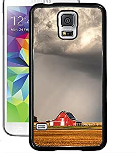 ColourCraft Clouds Design Back Case Cover for SAMSUNG GALAXY S5