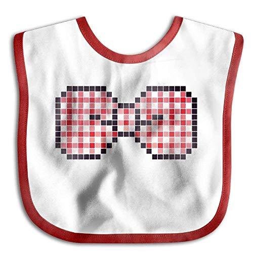 Cute Pink Bow Tie Infant Toddler Bibs Adjustable Baby Bib Funny Baby Shower (Bow Ties Bulk)