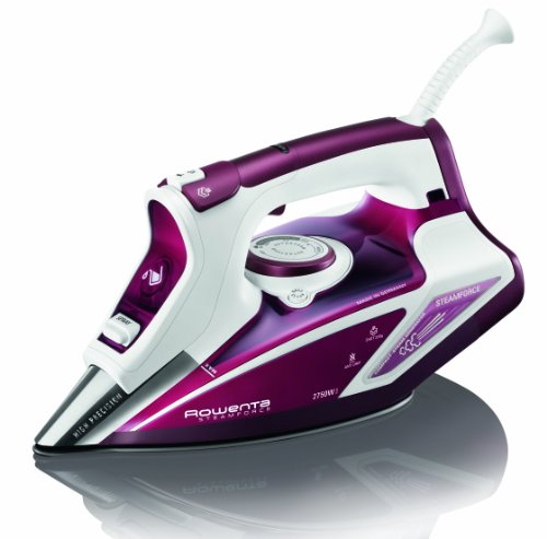Rowenta Steam Force Steam Iron DW9230 - White and Red