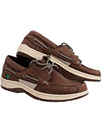 Gul 2017 Falmouth Leather Deck Shoe in Tan DS1002 Boot/Shoe Size UK - UK Size 13