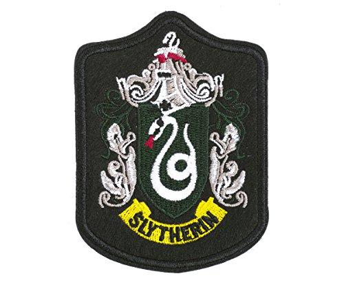 te Aufnäher der Häuser von Hogwarts, Version: Haus Slytherin (Slytherin Haus Kostüm)