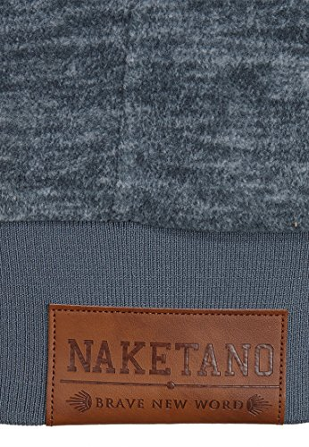 Naketano Male Zipped Jacket Mach Et Otze Dark Ash Melange