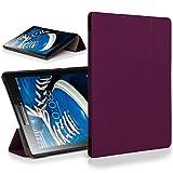 Forefront Cases® Lenovo Tab 2 A7-20 17,8 cm (7 Zoll IPS) Tablet Hülle Schutzhülle Tasche Smart Case Cover Stand - Rundum-Geräteschutz und intelligente Auto Schlaf/Wach Funktion (VIOLETT)