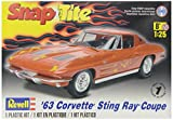 "Revell Monogramm Maßstab 1: 25""Snaptite 63Corvette Sting Ray Coupe"" Auto"
