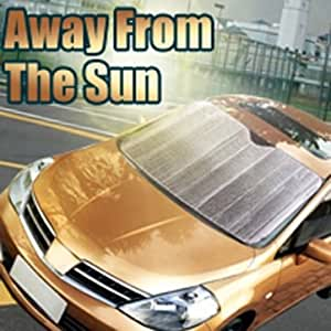 Haute Qualité Auto pare-brise avant de la voiture fenêtre Pare couverture Parasol feuille d'argent