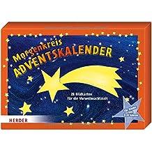 Morgenkreis-Adventskalender: 28 Bildkarten für die Vorweihnachtszeit für Kinder von 3 - 8 Jahren