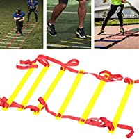 Beautyrain Footstep Training Ladder 3M Agility Ladder Training For Soccer Speed Basketball Equipment Gym Fitness Health