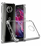 #7: Tarkan Moto X4 Shock Proof Protective Soft Transparent Back Case Cover For Motorola Moto X4 [Bumper Corners with Air Cushion Technology]