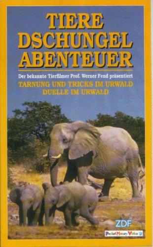 Tiere, Dschungel, Abenteuer - Tarnung, Tricks und Duelle im Urwald -