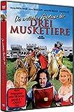DVD Cover 'Die erotischen Abenteuer der drei Musketiere