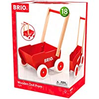 Brio Infant & Toddler - Wooden Doll Pram