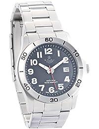 St. Leonhard Schweizer Uhr: SWISS MADE Herren-Armbanduhr wasserdicht, Edelstahl (Herrenarmbanduhr wasserdicht)