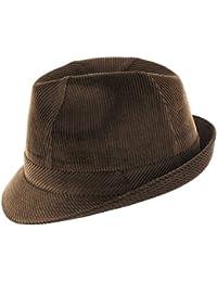 Lierys Molinar Cordhut, Herrenhut aus 100% Baumwolle in den Farben braun, grau, oliv oder camel, klassisch, cooler Trilby mit Ripsband und Innenfutter