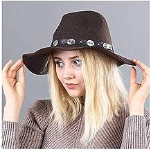 Ola británica A lo Largo de Fedora Sombrero Sombrero de Lana Sombrero de f7c91132be5