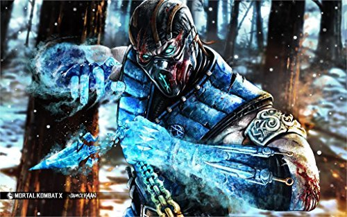 makeuseof-game-sub-zero-mortal-kombat-x-art-fighting-4-sizes-silk-fabric-canvas-poster-print-by-make