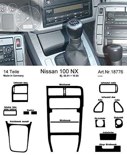 Preisvergleich Produktbild Richter 187 76 / 93 (DE) Nissan 100Nx,  Innenraumluft 90-96 1 Stück (4),  alu