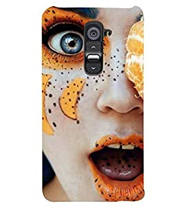 PRINTSWAG GIRL ART Designer Back Cover Case for LG G2