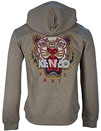de00733d Kenzo TOP Zipper Hoodie Tiger Embroidery Logo Back F865BL721 4XA