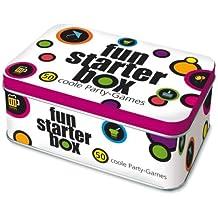 Fun-Starter-Box: 45 coole Party-Games. Blechdose mit 50 Karten
