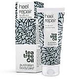 Tea Tree Oil Australian Bodycare Crema per la riparazione del tallone con il 25% di urea per la rimozione di calli, piedi, anti cornea e secca