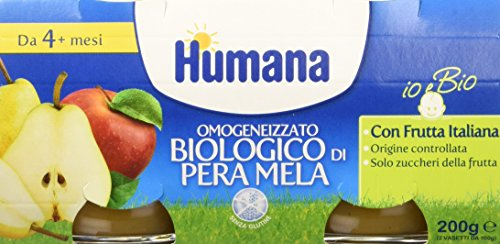 humana-omogeneizzato-mela-e-pera-bio-12-vasetti-da-100-gr