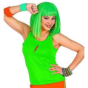 WIDMANN 01446 Neon Tank Top - Camiseta de tirantes para mujer, color verde neón, talla única