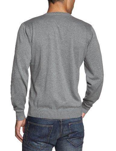 CASAMODA Herren Pullover Regular Fit 004130/72 Grau (72 silbergrau)