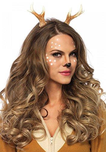 Haarreif mit Geweih von Leg Avenue Rehkitz Kitz Bambi Rentier Reh Hirsch (Reh Sexy Kostüme Halloween)
