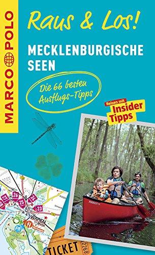 MARCO POLO Raus & Los! Mecklenburgische Seen: Guide und große Erlebnis-Karte in praktischer Schutzhülle