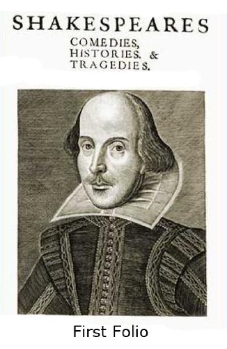 Shakespeare's First Folio/ 35 Plays
