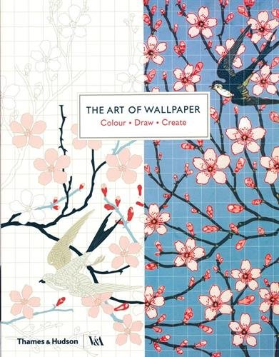 The Art of Wallpaper: Colour • Draw • Create (Colouring Books)