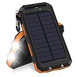 Surenhap Chargeur Solaire, Solar Power Bank 10000mAh...