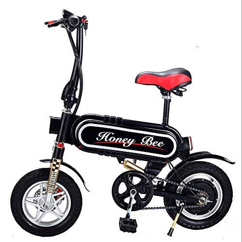 BYYLH Plegable Bicicleta Electrica Paseo Portátil Triciclo Adulto E-Bike Unisex