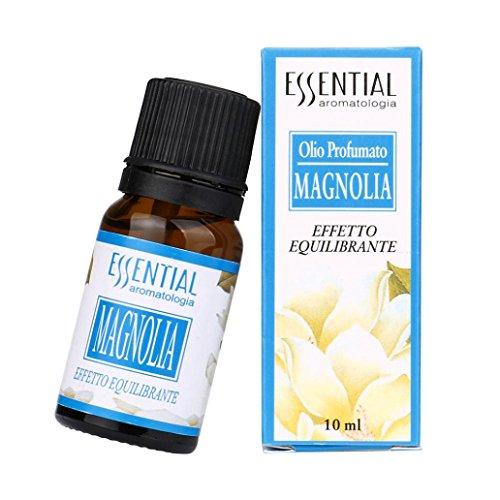 Ätherische Öle Set,style_dress 10 ml 100% Anjou Aromatherapie Duftöl reine & natürliche ätherische Öle Aromatherapie Duft Hautpflege B (Magnolie-A) - Magnolia Obst