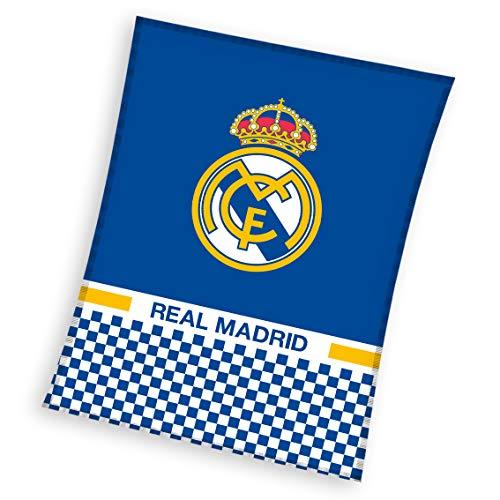 Real Madrid Manta Polar 110x 140cm