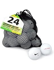 Nike PD - Lote de 24 pelotas de golf, grado A, recuperadas