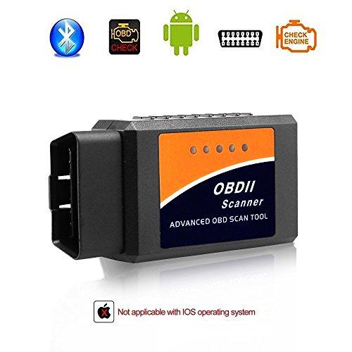 OBD2-Bluetooth-Scanner von Giveet für das Auto, drahtloses OBD2-Scan-Werkzeug, automatischer Code-Leser, Diagnosegerät für die Motorkontrollleuchte, für Android- und Windows-Geräte Ford Dash Cam