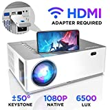 Beamer 6500 Lumen Full HD Native 1080p BOMAKER LED Videoprojektor 300 inch...