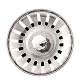 Edelstahl Küche Wasser Sink Drainer Sieb Filter 78mm Dia