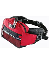 AspenSport Trekking Hüfttasche Von Aspensport Travel - Cinturón, color rojo / blanco, talla Size_name