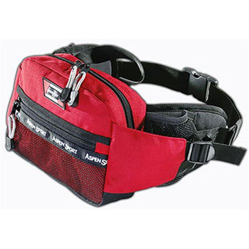 AspenSport Hüfttasche Travel rot 25 x 8 x 18 cm