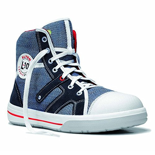 Elten Sneaker L10 Jeans Mid S2 Sicherheitsschuhe 76105